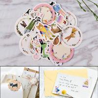 45pcs/lot DIY Cute Kawaii Cat Rabbit Fox Sticker Lovely Animal Diary Stickers 3C