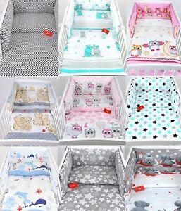 BABYLUX Kinderbettwäsche 2Tlg. 100 x 135 cm Bettwäsche Bettbezug Babybettwäsche