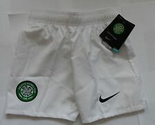 CELTIC 2012/13 WHITE HOME SHORTS  BY NIKE SIZE EXTRA SMALL BOYS BRAND NEW