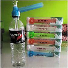 Top Puff Portable Water Hookah Shisha Pipe Screw on Bottle Converter 5 Colors