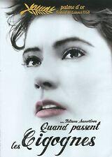 DVD QUAND PASSENT LES CIGOGNES