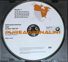 06 07 2008 BMW X3 750i 750Li 760Li SPORT NAVIGATION DISC CD DVD EAST FL CT NY NJ