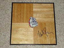 Mark Few Signed Gonzaga Bulldogs Framed Basketball Floor PROOF ZAGS AUTOGRAPHED