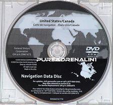 07 08 2009 2010 CADILLAC SRX NAVIGATION MAP NAVI GPS DISC CD DVD USA CANADA 5.0c