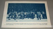 1950's Quebec Aces AHL Printed Action Photo