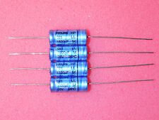 2 x NOS Philips 1500uF 25V 021 ASM LL Series Axial Electrolytic Capacitors