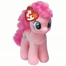 """MY LITTLE PONY PINKIE PIE PLUSH SOFT TOYS - 7"""" Beanie Baby Pink Balloons"""