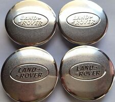 Land Rover, 4 X, Center Cap, HubCap, Chrome Oval, Chrome Logo, 63MM, # 0