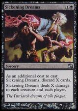MTG 4x SICKENING DREAMS-Graveborn * FOIL *