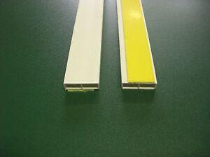 PVC – Abdeckleiste Hohlkammerleiste KA 40 x 7 selbstklebend