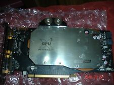 Zotac  GeForce GTX 560 Ti AMP! edition  1GB GDDR5 with HEATKILLER water block