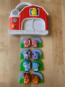 Leapfrog Fridge Magnets Replacement Farm Animal Pieces Refrigerator