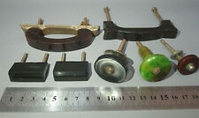 Antique Bakelite Cabinet Pull Drawer Handle Lot of 7 pcs