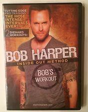 "Bob Harper Inside Out Method ""Bob's Workout"" DVD (2010) Brand New Sealed - Rare"
