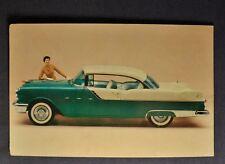 1955 Pontiac Star Chief Custom Catalina Postcard Brochure Excellent Original 55