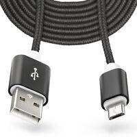 3m Micro-USB auf USB Kabel Laden Ladekabel für Samsung Galaxy S5/S4/Neo/Mini