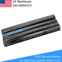 97WH Genuine T54FJ M5Y0X Battery For Dell Latitude E5420 E6430 E6520 8858X E6420