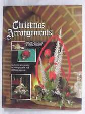 Christmas Arrangements, Clowes, John, Gudgeon, Mary, Excellent Book