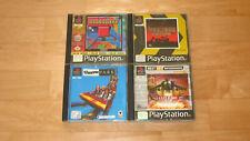 4 Spiele Playstation 1 Spielesammlung Konvolut Games PSX