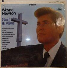 God is Alive Wayne Newton 33RPM ST-2832  100816LLE