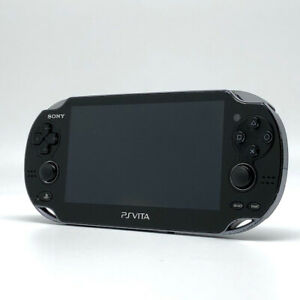 SONY PS Vita PCH-1100 Crystal Black Wi-Fi OLED Console only