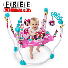Baby Activity Center Jumper Gym Adjustable Wheel Sound Light Girl Toddler New