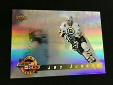 "JOE JUNEAU ROOKIE INSERT ""HOLOGRAM"" 1992-93 BOSTON BRUINS UD HOCKEY CARD"