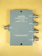 Narda  Power Divider  4314-4  4-8 GHz
