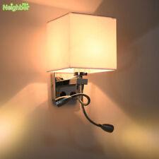 Modern LED Cloth Wall Lamp Wall sconce Light Hallway Bedroom Bedside Lighting