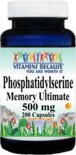 Phosphatidylserine-500mg-200-Caps-Memory-Support-Brain-Health