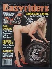 2003 JULY EASYRIDERS MOTORCYCLE CHOPPER MAGAZINE HARLEY CUSTOM PAUL YAFFE CHICA