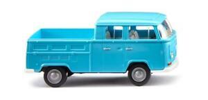 HO Scale Cars - 031404 - VW T2 double cabin - ice blue