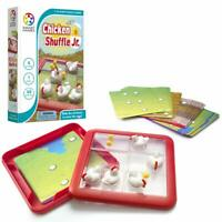 SmartGames Chicken Shuffle Jr. Travel Game 60 Challenges Ages 4 +