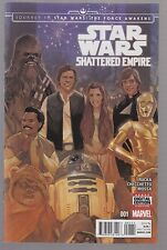 STAR WARS SHATTERED EMPIRE #1 REGULAR COVER BY PHIL NOTO - MARVEL COMICS - 2015