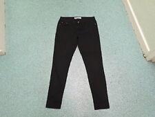 "New Look Skinny Jeans Size 12 Leg 30"" Black Faded Ladies Jeans"