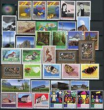 Liechtenstein**2009 YEAR SET@FACiIALE/POSTPRIJS-38vals-HOLOGRAM-BUTTERFLIES