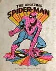 Vintage 1971 Marvel Comics The Amazing Spider-Man Iron On Transfer DAYGLO