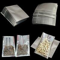 100 Alubeutel Aluminiumbeutel Bügelbeutel Bügeltüten Vacuumbeutel Alufolie 4Type