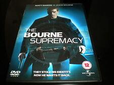 Bourne Supremacy - (DVD, 2005) - Región 2 PAL - Clasificación 12 - Matt Damon