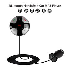 Handsfree Bluethooth FM Transmitter USB Car charger for iPhone 8 X Samsung S9 S8