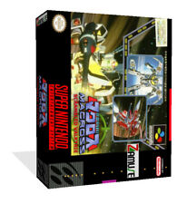 - Macross Scrambled Valkyrie SNES Game Case Box + Cover Art Work Only