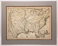 "Covens & Mortier: Original ""Carte de la Louisiane"" ca 1730"