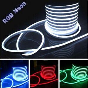 striscia strip led flessibile interno esterno led neon flex rgb bobina tagliabil