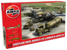 Airfix Eighth Air Force: Boeing B-17G & Bomber Re-Supply Set 1/72 Kit - A12010