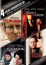 4 Film Favorites Michael Douglas 0883929171989 DVD Region 1 P H