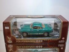 ROAD LEGENDS VW VOLKSWAGEN KARMANN GHIA 1966 - GREEN 1:18 - EXCELLENT IN BOX