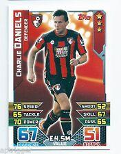 2015 / 2016 EPL Match Attax Base Card (6) Charlie DANIELS AFC Bournemouth