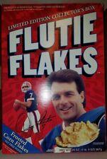 Vintage Doug Flutie Flutie Flakes Red Box Opened Empty No Cereal Good Condition