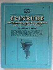 GLENN'S EVINRUDE MARINE SERIES OUTBOARD MOTOR REPAIR & TUNE-UP GUIDE 1969 PRINT