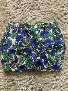 FLORAL TULIP SKIRT SIZE 14 RIVER ISLAND  PARTY EVENING Mini Puffy Bubble